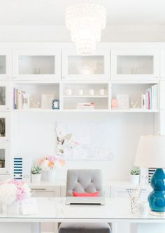 If I could decorate my entire house in white, I would. Like lots of white space on my website and I go for more of a minimalist look.