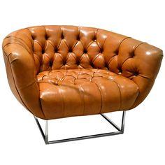 Baughman Leather Chair
