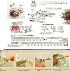Crocheted flowers - Annie Mendoza - Picasa Webalbums
