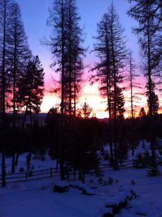 Sunrise- Seeley Lake, Montana
