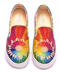 72c9d43feaa Goby Rainbow Dream Catcher Slip-On Sneaker. Shoes 2017Boho FashionLadies ...
