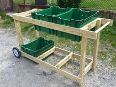 1000 images about farm wash station on pinterest for Portable vegetable garden
