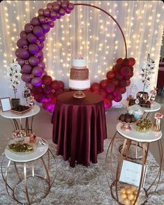 Birthday Decorations At Home, Balloon Decorations Party, Wedding Decorations, Elegant Birthday Party, 50th Birthday Party, Elegant Party Themes, Backdrops For Parties, Event Decor, Designer