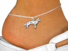 Standing Wolf Charm And Anklet by Lonestar Jewelry -- Awesome products selected by Anna Churchill