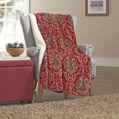 Walmart Throw Blankets Better Homes And Gardens Sherpa Throw  Walmart And Products