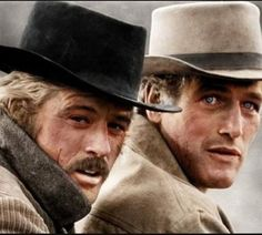 Happy birthday bad boys-Butch and Sundance!!! Forever fave movie,45 years ago and now <3