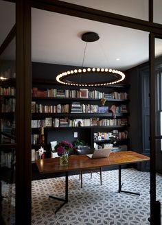 the more I think about it, I wouldn't necessarily be opposed to turning my dining room into a library...