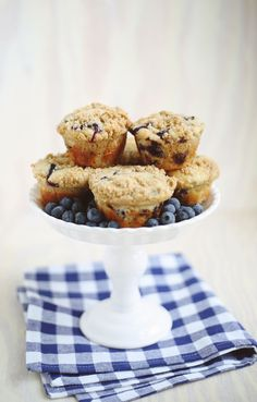 Lavender Blueberry Muffins - http://www.decoratingo.com/lavender-blueberry-muffins/ #InteriorDesign