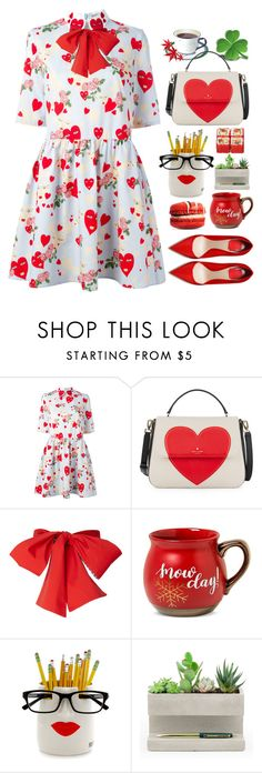 """14.02.17"" by malenafashion27 ❤ liked on Polyvore featuring Costa, VIVETTA, Kate Spade, Threshold and Kikkerland"