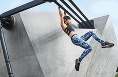 Flying High: Total-Body Sculpting Moves From a Parkour Pro - SELF