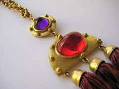 Vintage Designer Necklace Bill Smith of Richelieu by VintageRenude SOLD