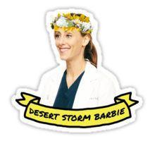 Desert Storm Barbie Sticker