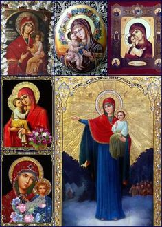 Icoane ortodoxe Religious Pictures, Religious Icons, Divine Mother, Mother Mary, Holy Mary, Orthodox Icons, Russian Art, Virgin Mary, Madonna