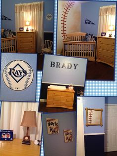 Are you kidding me!!!! If only it were the braves, lol...baseball nursery for Brady :)