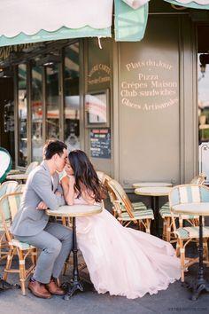 ExtraPetite.com - Sunset Engagement Shoot in Paris