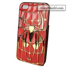 Spiderman 4 Case for iPhone 4/4S (Red)