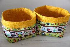 Kids nursery storage bags