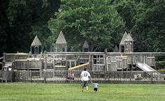 wooden playgrounds - Google Search