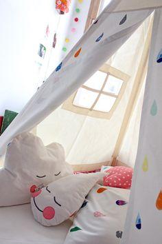 RAINDROP cushion Kawaii Style