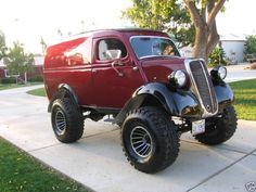 custom built 4x4s | Ford Thames Panel Delivery Custom 4x4 on Jeep CJ5 Chassis - 1948 ...
