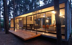 Cher House #cabin in woods