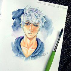 Jack Frost - in Sketchbook by Laovaan.deviantart.com on @deviantART
