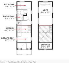 Two 2014 Tumbleweed Elm Horizon Tiny Houses For Sale