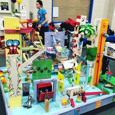 I am so proud of our team and our lovely Rube Goldberg Machine!!! #rubegoldberg