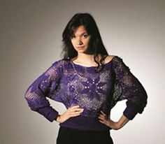 Ravelry: Floral lace top pattern by Jane Walters