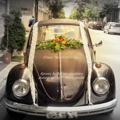 Choose your style and let us do the rest… Wedding Cars, Boho Wedding, Fresh Flowers, Greece, Your Style, Rest, Grease