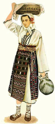 Dobrogea Regional, Folk Costume, Costumes, Armenia Azerbaijan, Animal Masks, Colouring Pages, Coloring Books, World Cultures, Fashion History