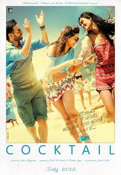 COCKTAIL poster by raj khatri, via Behance