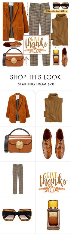 """Thanksgiving Day!"" by aidasusisilva ❤ liked on Polyvore featuring MANGO, Marni, Grenson, Mulberry, Cricut, Gucci and D&G"