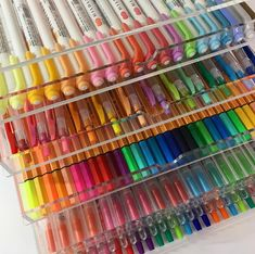 I get a lot of questions about the acrylic drawers that I use to organize stationery. I bought all my storage containers Stationary Organization, Craft Organization, Muji Stationary, Stationary Design, Organizing, Marker Storage, Study Room Decor, Cute School Supplies, Cute Stationery