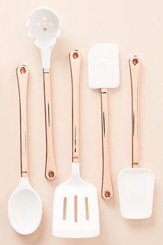 Pretty kitchen utensils