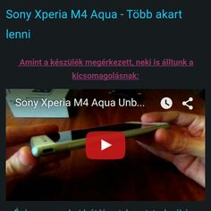 Sony Xperia M4 Aqua teszt  http://www.vizualteszt.hu/tesztek/android-telefonok/30-sony-xperia-m4-aqua.html