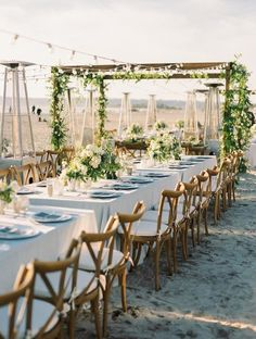 Outdoor Wedding Reception Table Setting Idea Via Bryan Miller Photography Deer Pearl Flowers Http