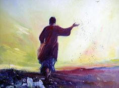 The Parable Of The Sower. Matt 13:3-9. CLICK IMAGE