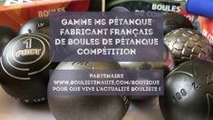 YouTube #boulistenaute Boules de pétanque compétition, la gamme MS avec technologie Anti-Rebond Boutique, Kettlebell, Gym Equipment, Sports, Play, Lineup, Technology, Hs Sports, Kettlebells