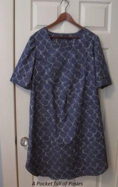 Merchant & Mills dress shirt - A closet full of posies