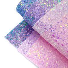 Ice Slushie Chunky Glitter Fabric Sheets Elsa Birthday Party, Craft Stalls, Glitter Fabric, Slushies, Deep Purple, Fabric Design, Craft Supplies, Velvet, Colours