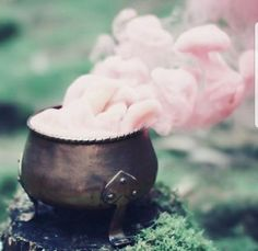 Image about pink in ღ Pagan - Magic - Wicca - spells ღ by ❥ Bambi Fairy Land, Fairy Tales, Fairy Dust, Magia Elemental, Elemental Magic, Chibi Kawaii, Yennefer Of Vengerberg, Pink Smoke, Colored Smoke