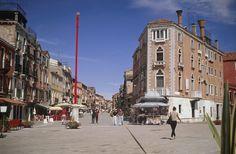 Via Eugenia, oggi Via Garibaldi -  Venezia.
