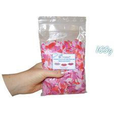 ✭ Confettis de bain moussant lèvres - Sachet de 100g ✭