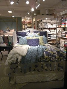 New Nana's Attic collection in the Codarus Showroom at High Point Fall 2012.  #bedding #bedroomdecor