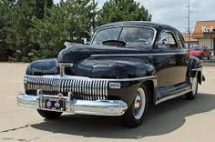 Vintage Cars Classic 1942 DeSoto Custom Club Coupe with factory hidden headlights, a first for mass produced vehicle. Retro Cars, Vintage Cars, Antique Cars, Dodge, Hot Rods, Desoto Cars, Automobile, Chrysler Cars, Chrysler Vehicles