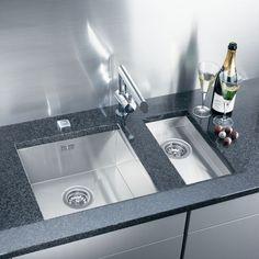 Podwieszane zlewozmywaki - ciekawe propozycje producentów Sink, Kitchen, Home Decor, Sink Tops, Vessel Sink, Cooking, Decoration Home, Room Decor, Vanity Basin