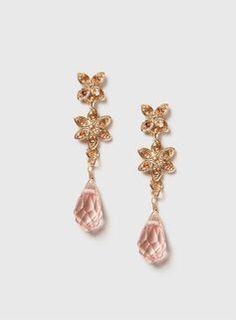 Embellished Beaded Drop Earrings from Dorothy Perkins £6,50