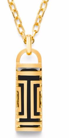 Tory Burch fit-bit necklace