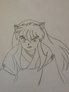 Inuyasha drawing <3